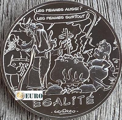 10 euro Frankreich 2015 - Asterix Gleichheit Der Seher