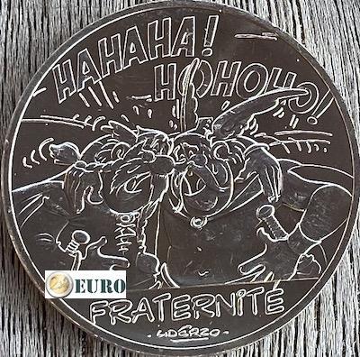 10 euro Frankreich 2015 - Asterix Brüderlichkeit bei den Belgiern