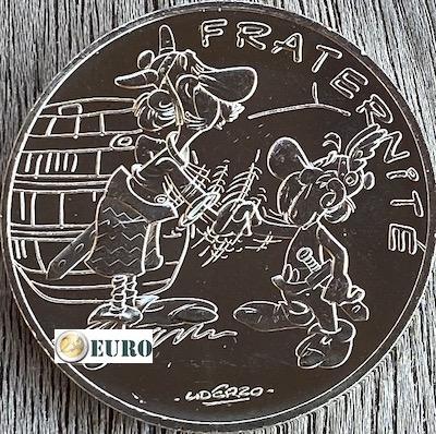 10 euro Frankreich 2015 - Asterix Brüderlichkeit bei den Briten