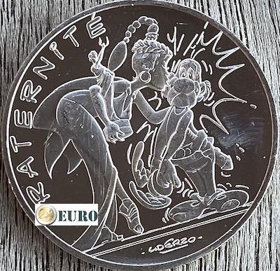 10 euro Frankreich 2015 - Asterix Brüderlichkeit und Latraviata
