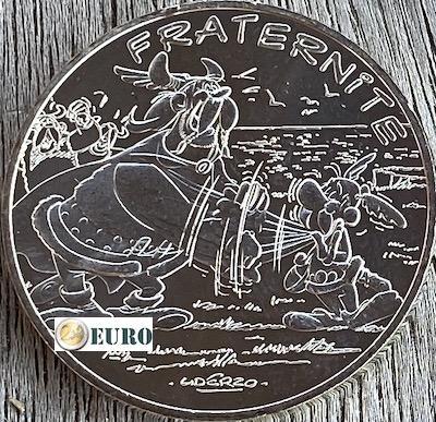 10 euro Frankreich 2015 - Asterix Brüderlichkeit und die Normannen