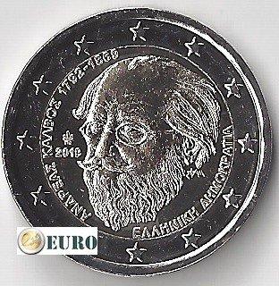 2 euro Griechenland 2019 - Andreas Kalvos UNC UNZ