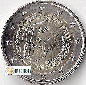 2 euro Portugal 2019 - Ferdinand Magellan UNC