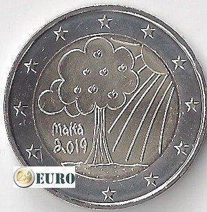 2 euro Malta 2019 - Natur und Umwelt UNC UNZ