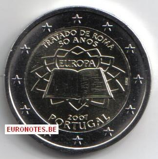 Portugal 2007 - 2 euro Treaty of Rome ToR UNC