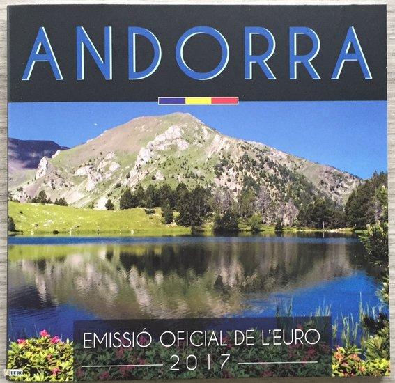 Euro set BU FDC Andorra 2017