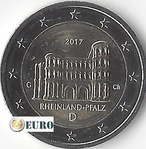 2 euro Germany 2017 - G Rheinland-Pfalz UNC