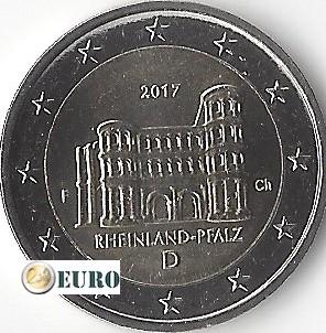 2 euro Germany 2017 - F Rheinland-Pfalz UNC