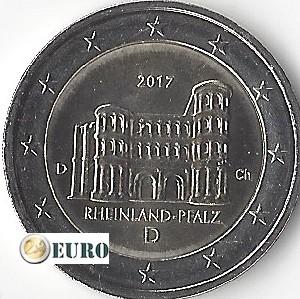 2 euro Germany 2017 - D Rheinland-Pfalz UNC