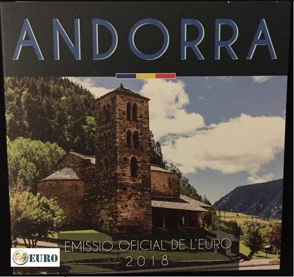 Euro set BU FDC Andorra 2018