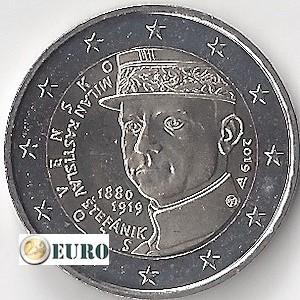 2 euro Slowakei 2019 - Milan Rastislav Stefanik UNC UNZ