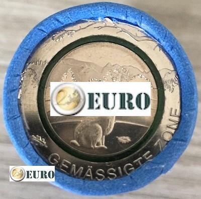 Rolle 5 euro Deutschland 2019 - gemäßigte Zone