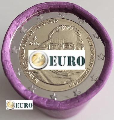 Rolle 2 euro Griechenland 2019 - Manolis Andronikos