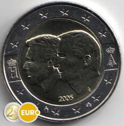 Belgium 2005 - 2 euro BLEU UNC