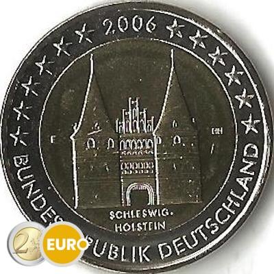 Germany 2006 - 2 euro F Schleswig-Holstein UNC