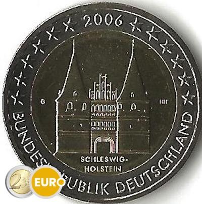 Germany 2006 - 2 euro G Schleswig-Holstein UNC