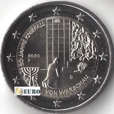 2 euro Deutschland 2020 - F Kniefall von Warschau UNC UNZ