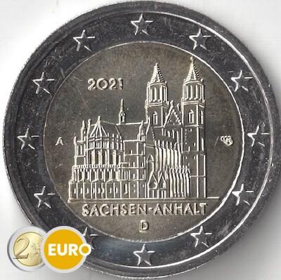 2 euro Deutschland 2021 - A Sachsen-Anhalt UNZ UNC