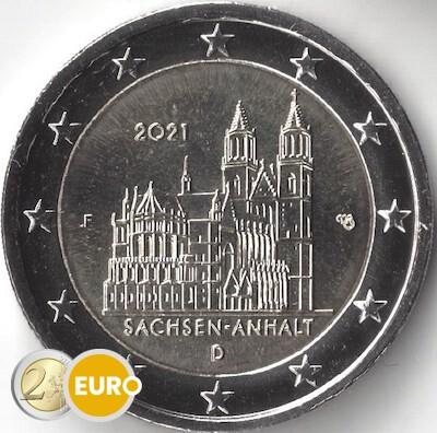 2 euro Deutschland 2021 - F Sachsen-Anhalt UNZ UNC