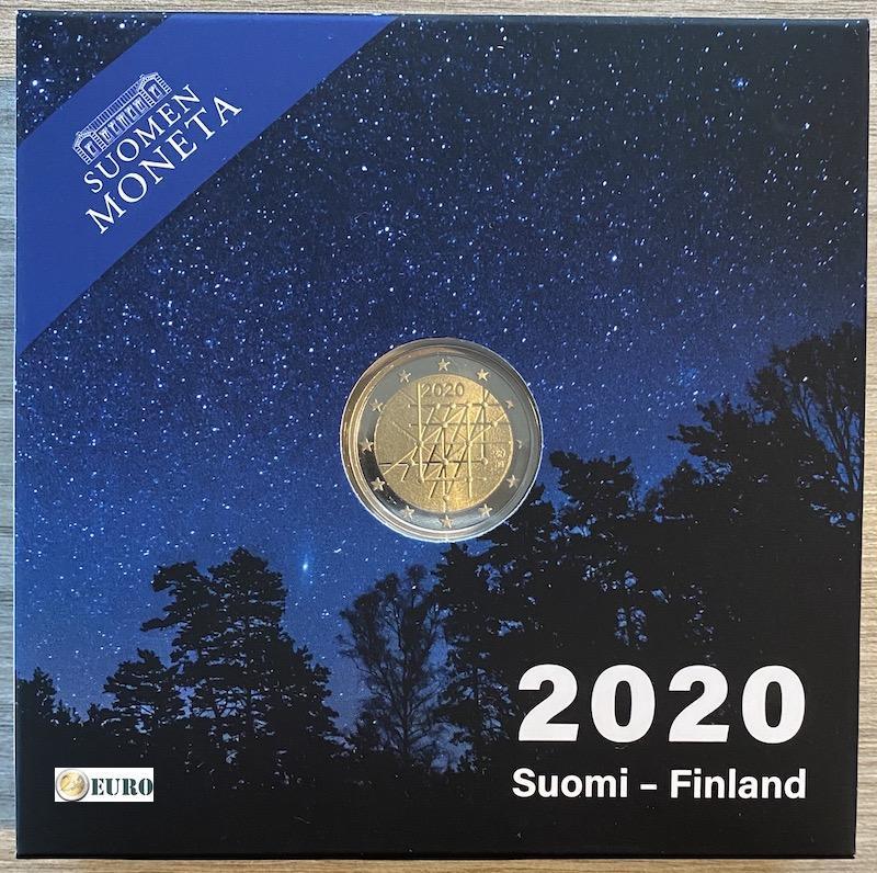 2 euro Finnland 2020 - Turku Universität PP BE Proof