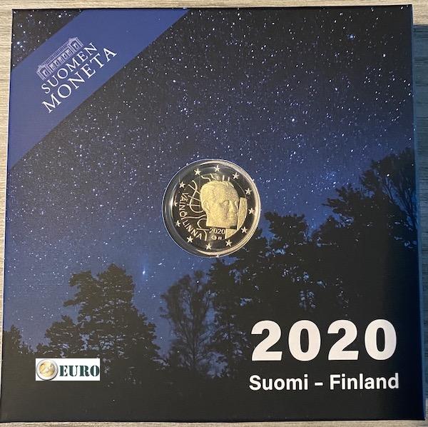 2 euro Finnland 2020 - Vaino Linna PP BE Proof