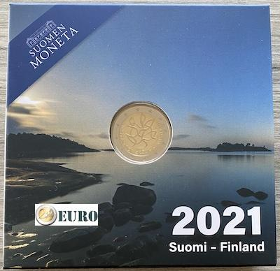 2 euro Finnland 2021 - Journalismus PP BE Proof