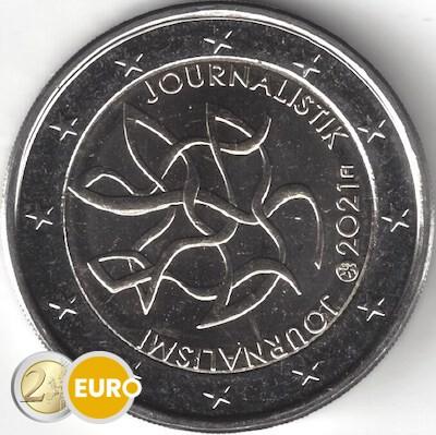 2 euro Finnland 2021 - Journalismus UNC