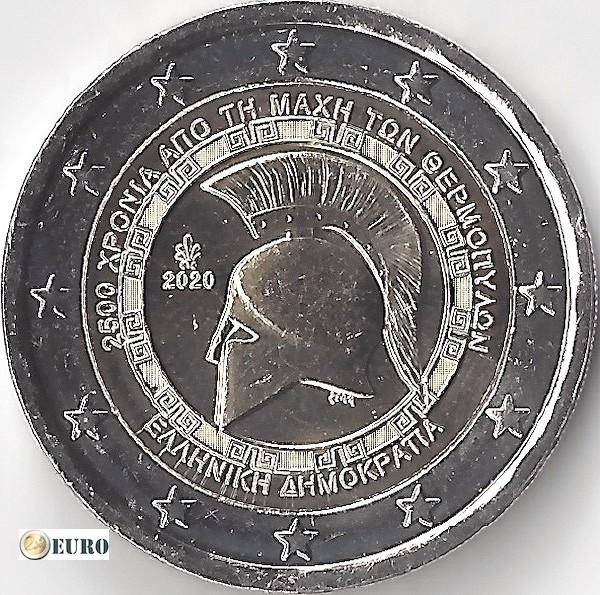 2 euro Griechenland 2020 - Schlacht von Thermopylae UNC UNZ