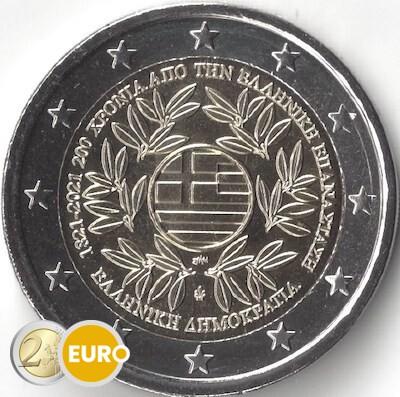2 euro Griechenland 2021 - Griechische Revolution UNZ UNC