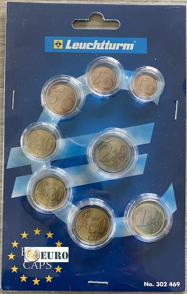 Leuchtturm 302469 - Münzkapsel für Euro-KMS