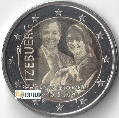 2 Euro Luxemburg 2020 - Geburt Charles von Luxemburg UNC Foto
