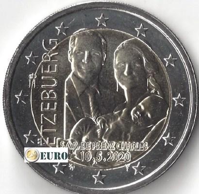 2 Euro Luxemburg 2020 - Geburt Charles von Luxemburg UNC