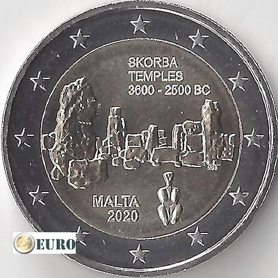 2 euro Malta 2020 - Tempel von Skorba UNC UNZ