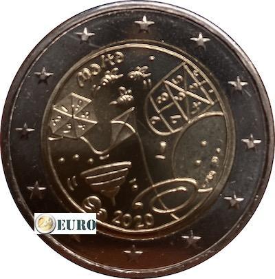 2 euro Malta 2020 - Spiele UNZ UNC Münzzeichen MdP Fullhorn