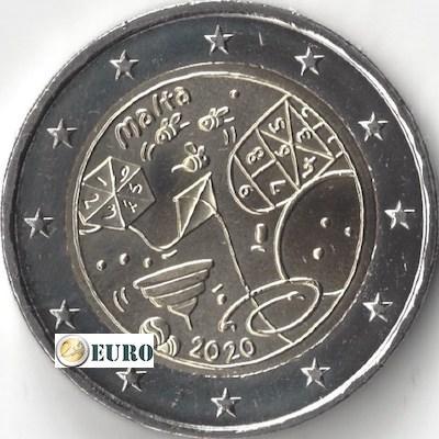 2 euro Malta 2020 - Spiele UNC UNZ