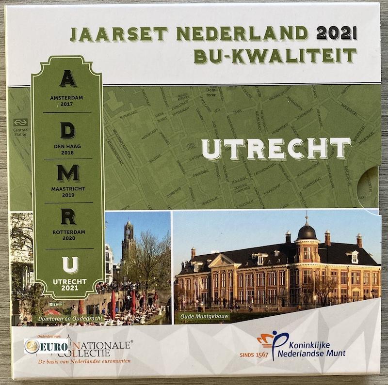 KMS Niederlande BU FDC 2021 Utrecht
