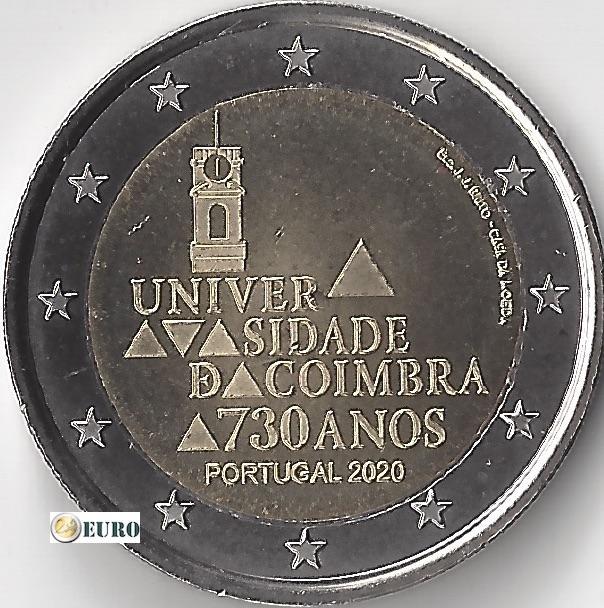 2 euro Portugal 2020 - Universität Coimbra UNC UNZ