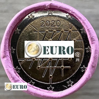 Rolle 2 euro Finnland 2020 - Turku Universität