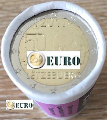 Rolle 2 euro Luxemburg 2017 - Freiwilliger Militärdienst