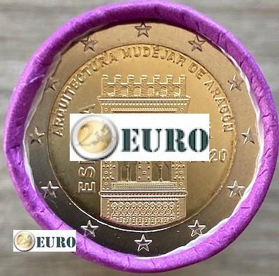 Rolle 2 euro Spanien 2020 - Mudéjar Aragón