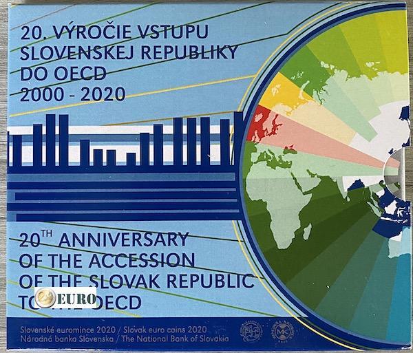 KMS Slowakei 2020 BU FDC - Beitritts zur OECD