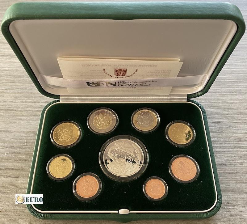 KMS PP Vatikan 2018 + 20 euro Silber