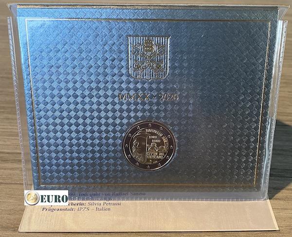 2 euro Vatikan 2020 - Raffaello BU FDC