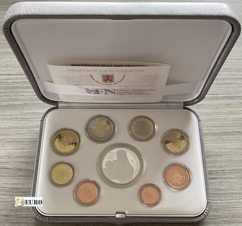 KMS PP Vatikan 2020 + 20 euro Silber