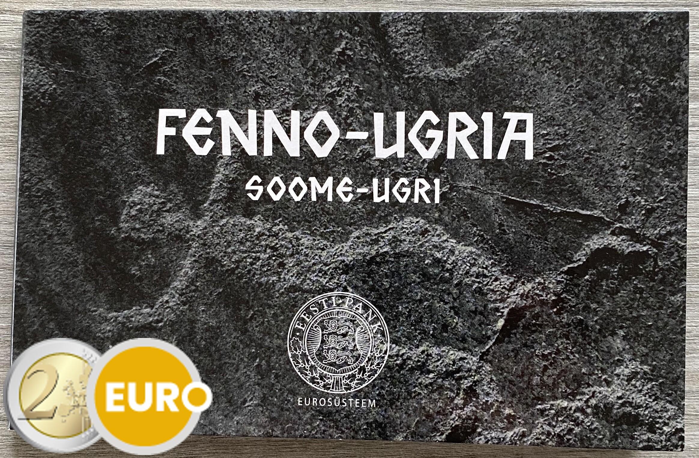 2 euro Estland 2021 - finno-ugrische Völker BU FDC Coincard