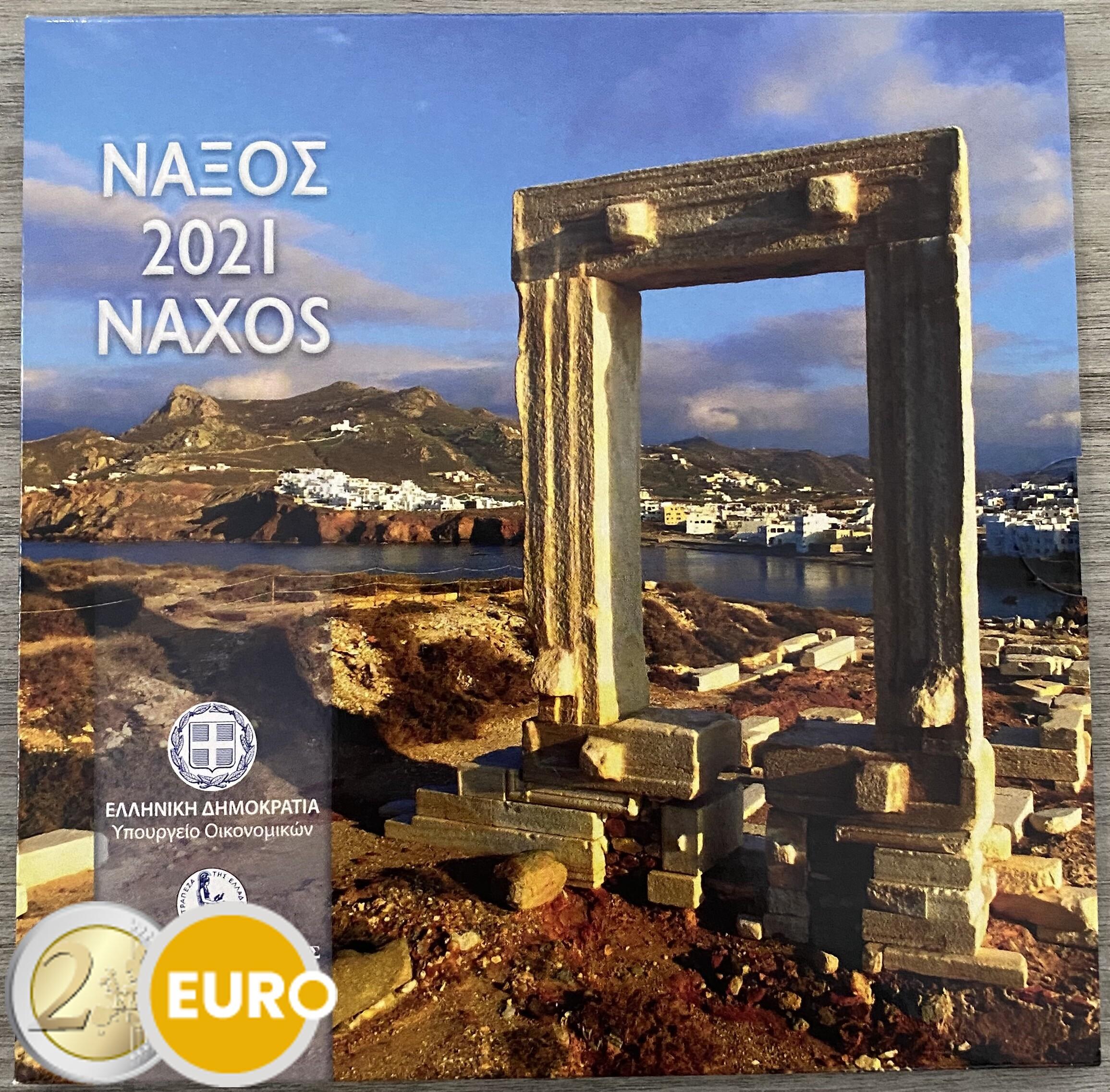 KMS Griechenland 2021 Stgl. BU FDC Naxos