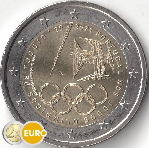 2 euro Portugal 2021 - Olympischen Spielen UNZ UNC