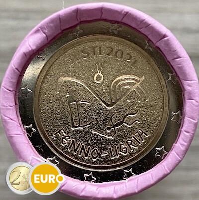 Rolle 2 euro Estland 2021 - finno-ugrische Völker