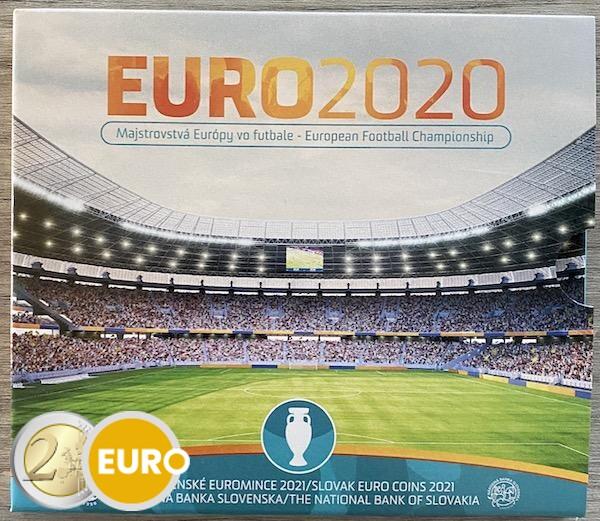KMS Slowakei 2021 Stgl. BU FDC - EURO 2020 Fußball