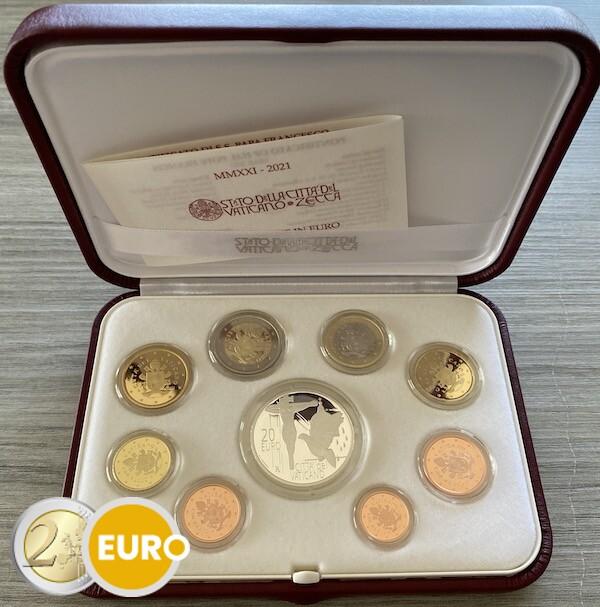 KMS PP Vatikan 2021 + 20 euro Silber